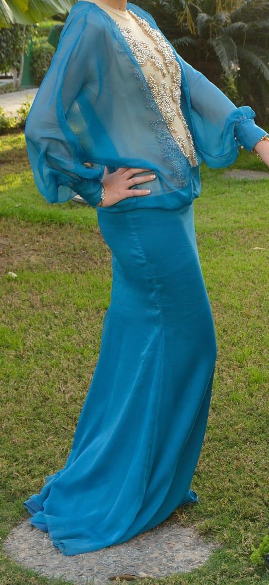 hijab-dress-blue